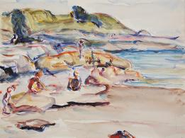 Freda pemberton Smith , Batherson the Beach, 18